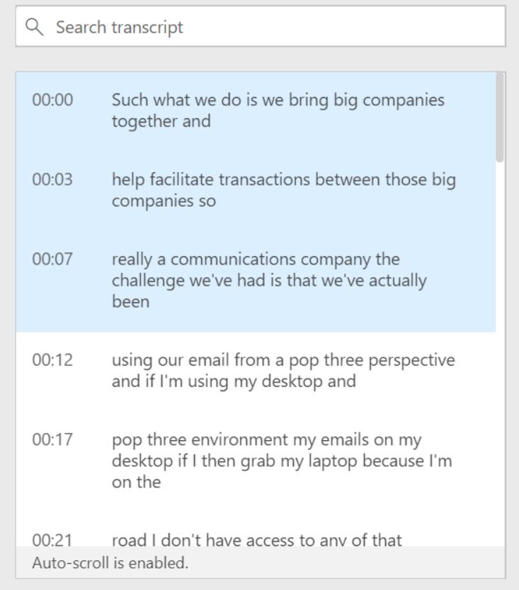 Recording in Microsoft Teams — Lync se