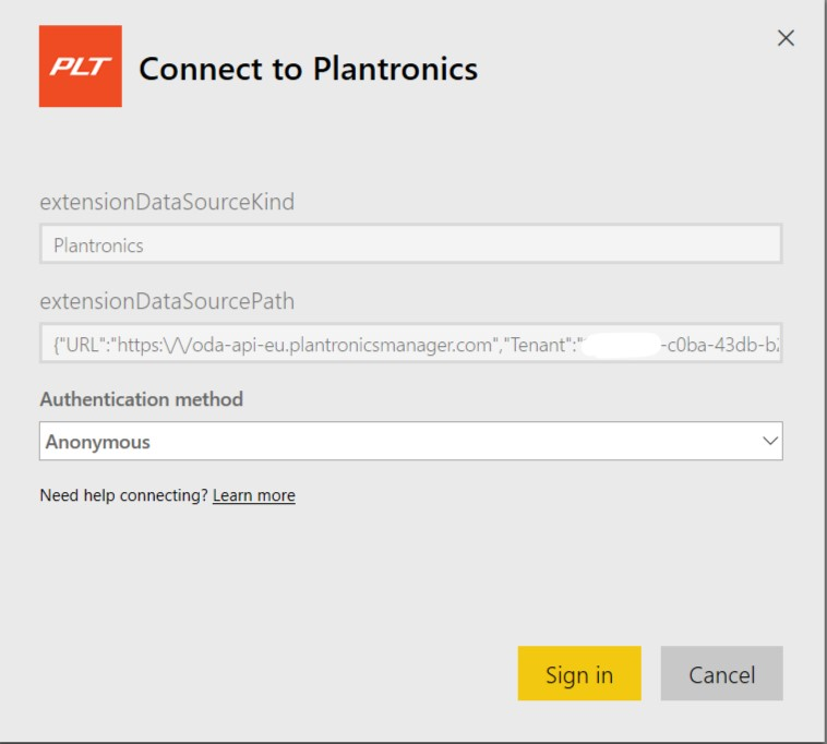 Plantronics and Power BI — Lync se
