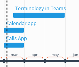 User interface updates in Teams — Lync se